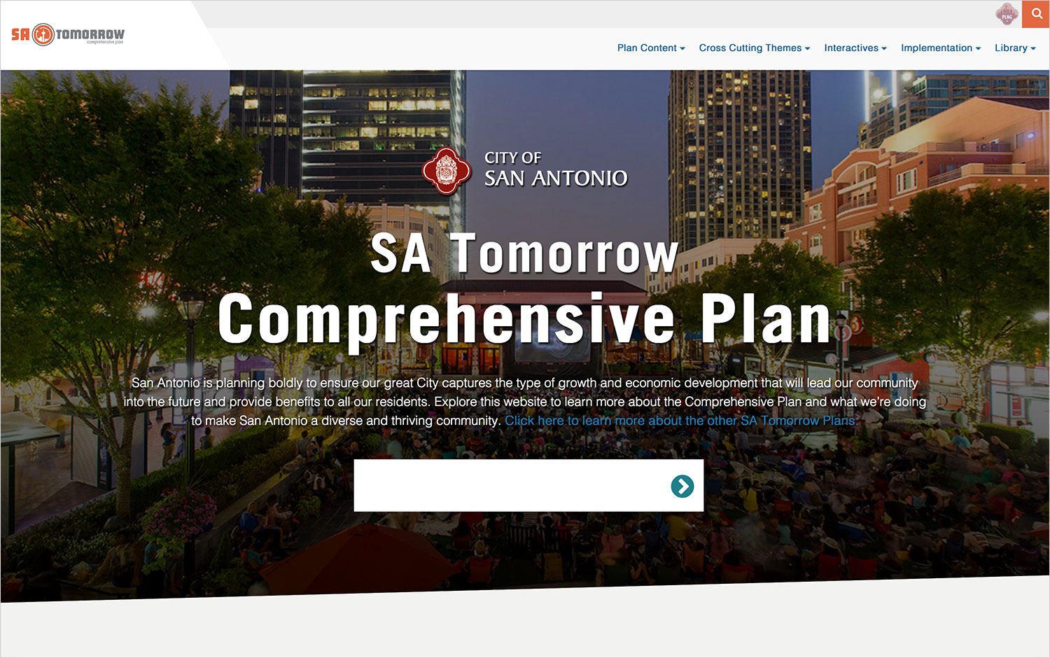 SA Tomorrow Plan Sites